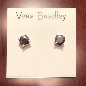 Vera Bradley Silver Stud Earrings
